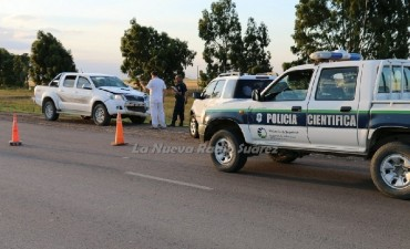 ACCIDENTE FATAL EN LA RUTA 67